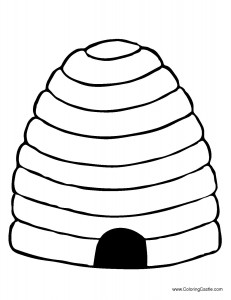 beehive coloring pages | Bee Coloring Pages — MumbleBee Inc | MumbleBee Inc