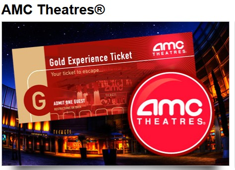 5 For 12 AMC Gold Experience Mailed To Chicagoland Rockford