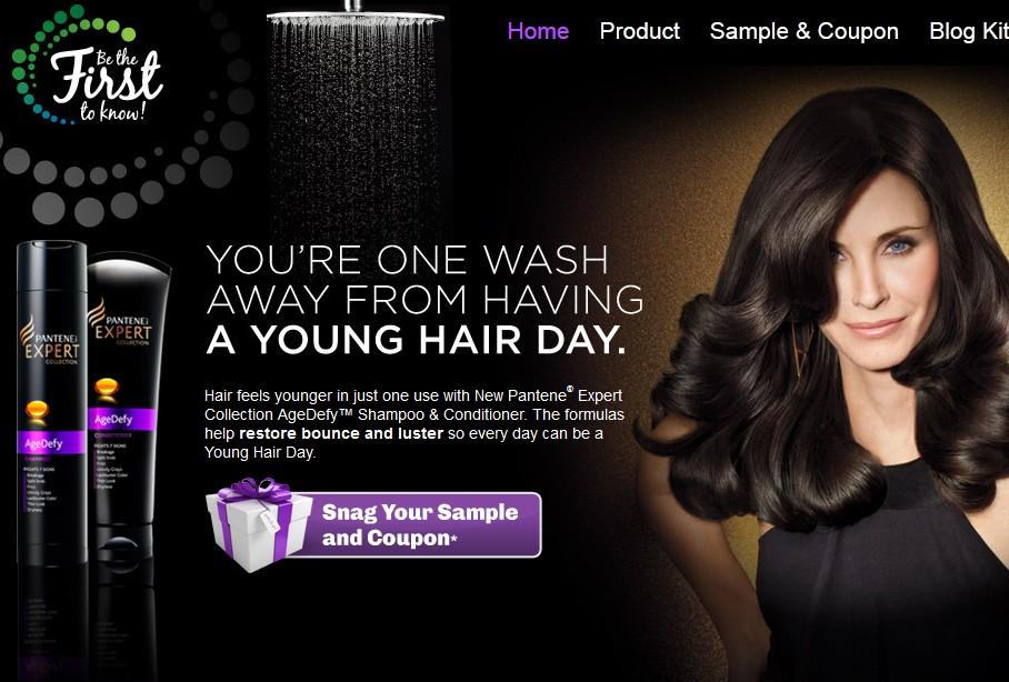 Advertisement Of Shampoo