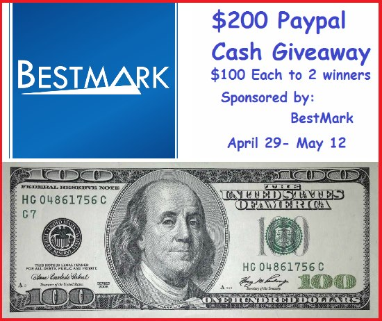 $200 PayPal Cash, Sponsored by BestMark