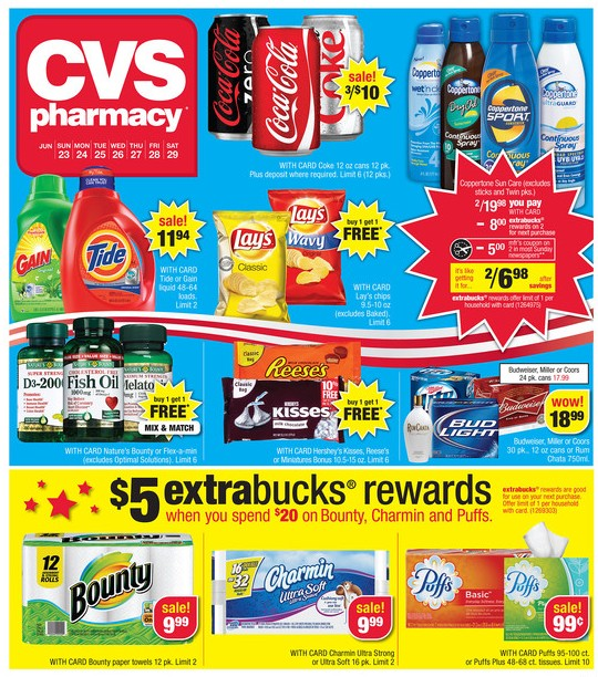 cvs ad sneak peek for 6  23  2013 29  2013