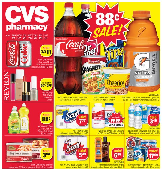 cvs ad sneak peek for 7  21  2013 27  2013