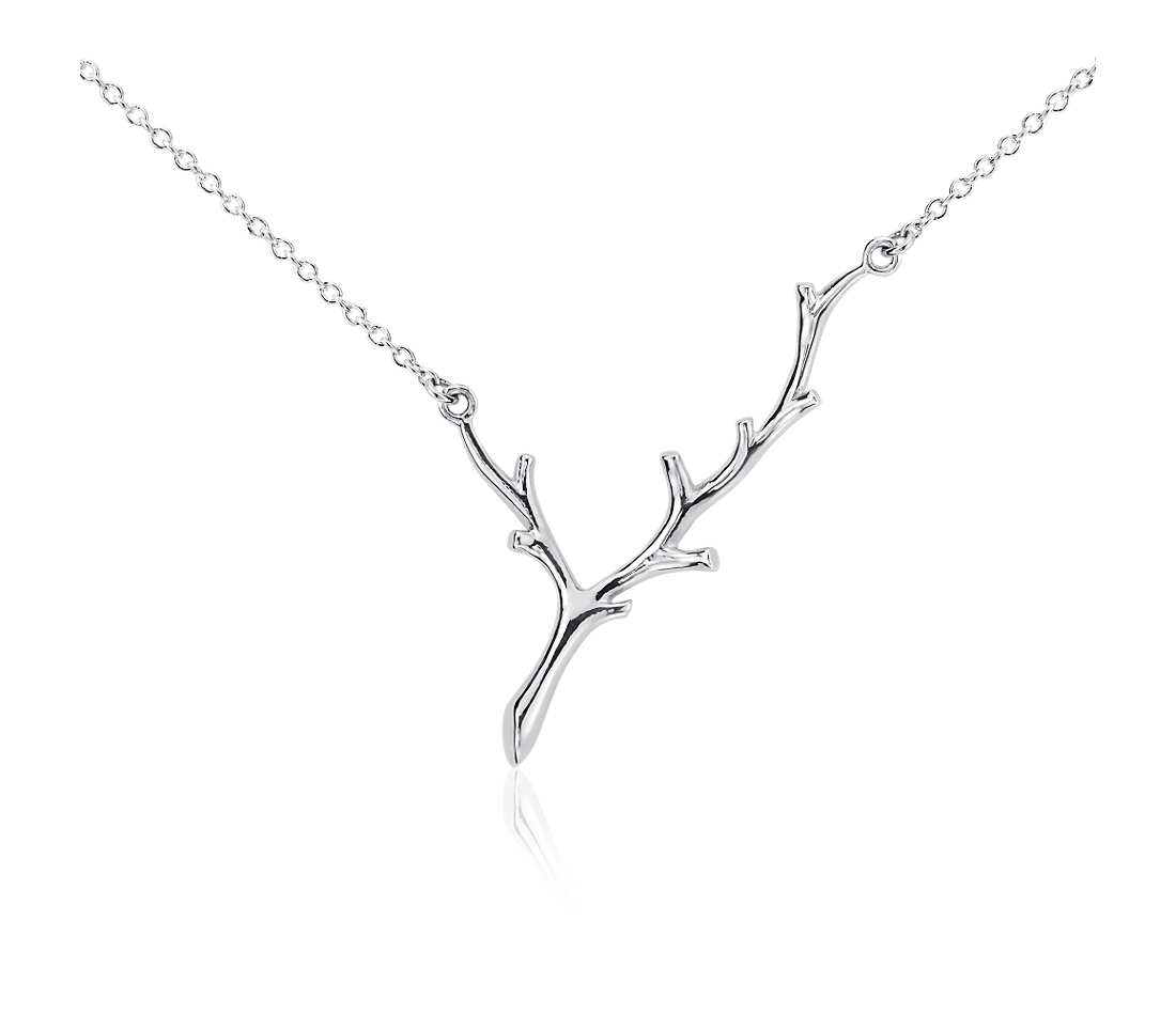 Blue Nile Branch Necklace