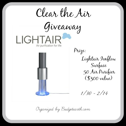 Clear the Air Giveaway