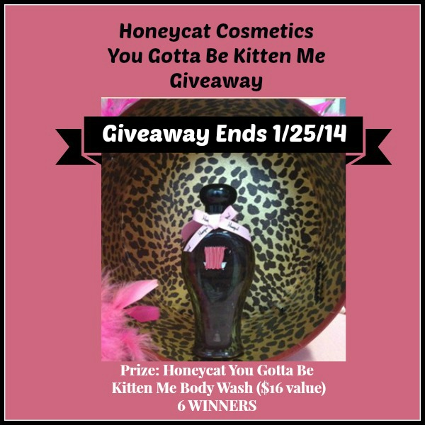 Honeycat Cosmetics Giveaway