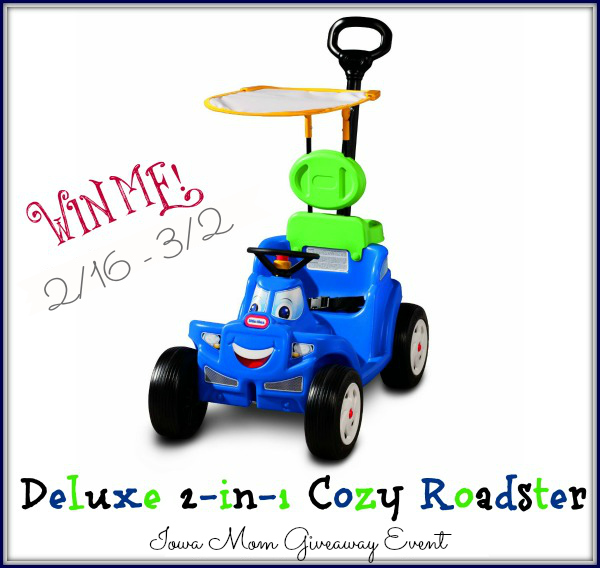 Deluxe 2-in-1 Cozy Roadster Giveaway 2 (1)
