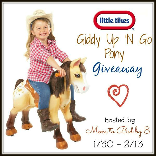Giddy Up N Go Pony Giveaway