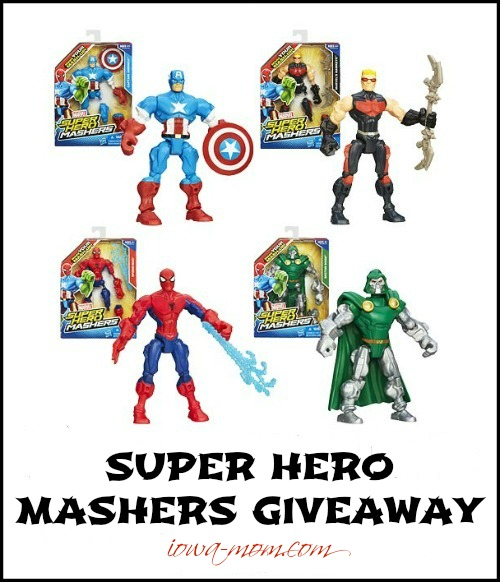 MARVEL SUPER HERO MASHERS GIVEAWAY