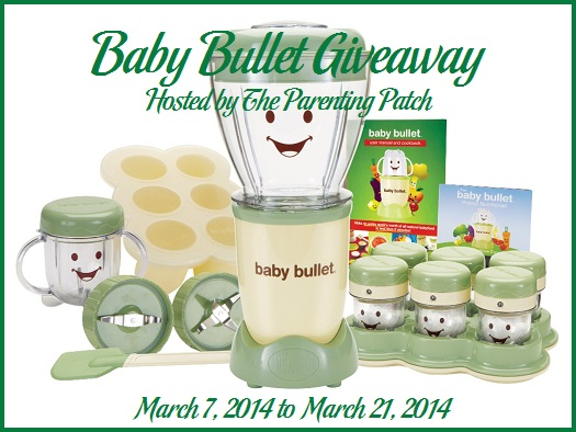 2014-03-07 Baby Bullet Giveaway