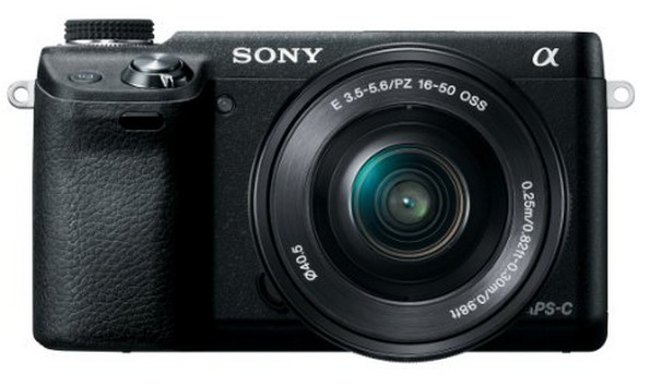 Sony NEX-6L/B 16.1 MP Compact Interchangeable Lens Digital Camera with 16-50mm Power Zoom Lens and 3-Inch LED (