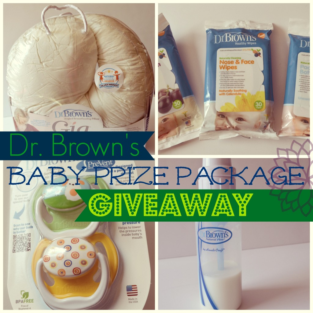 dr browns' giveaway button