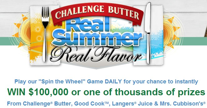 Challenge Butter Sweepstakes