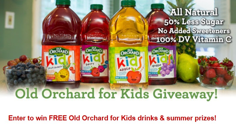 Old Orchard for Kids Giveaway
