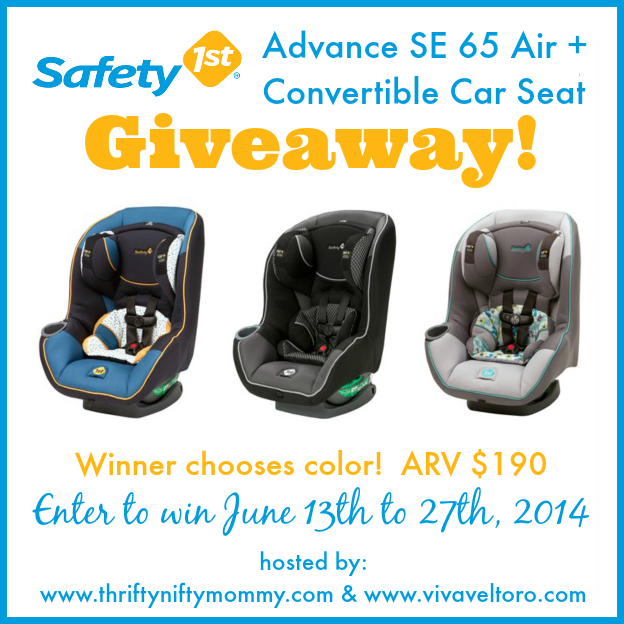 Safety-1st-Advance-SE-65-Air -Giveaway