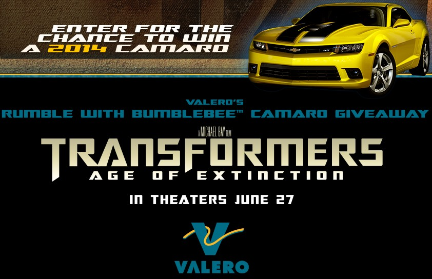 Transformers Age of Extinction Sweepstakes