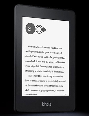 "Certified Refurbished Kindle Paperwhite, 6"" High Resolution Display with Next-Gen Built-in Light, Wi-Fi -"
