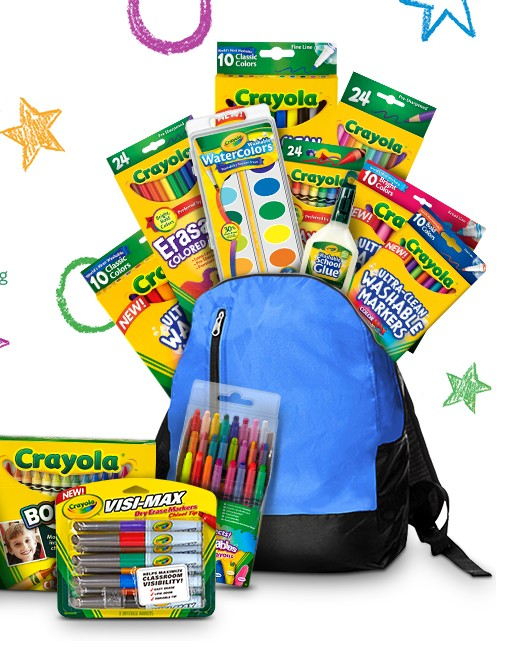 "CRAYOLA ""#BACKWITHTHEBEST"" SWEEPSTAKES"