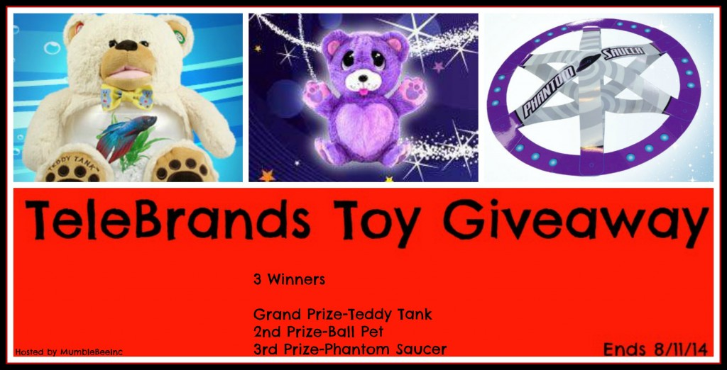 TeleBrands Toy Giveaway