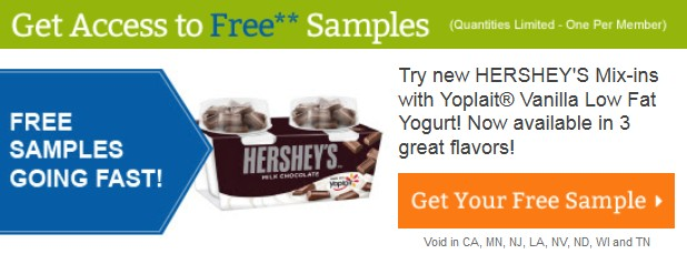 Yoplait® Low Fat Yogurt with Hershey's Mix-In's