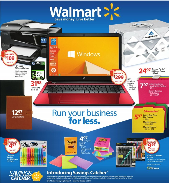 walmart ad sneak peek for 9  28  2014 04  2014