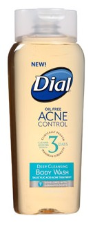 Dial® Acne Control Face Wash and Body Wash
