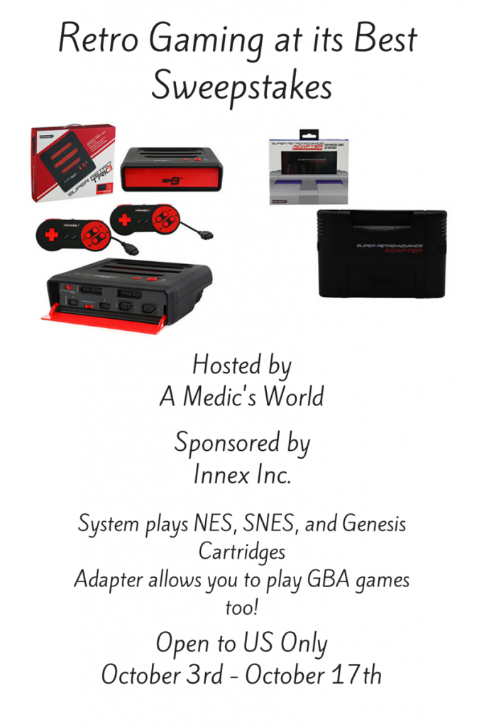 Retro Gaming at its Best Sweepstakes
