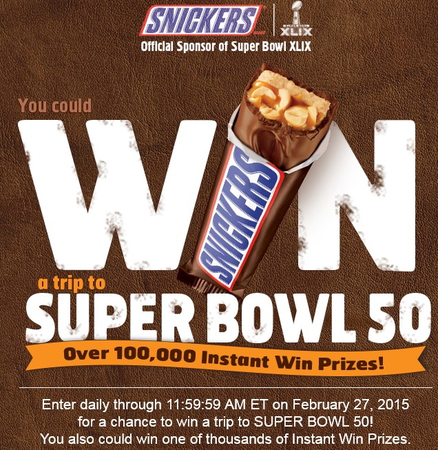 SUPER BOWL SATISFACTION GAME & SWEEPSTAKES