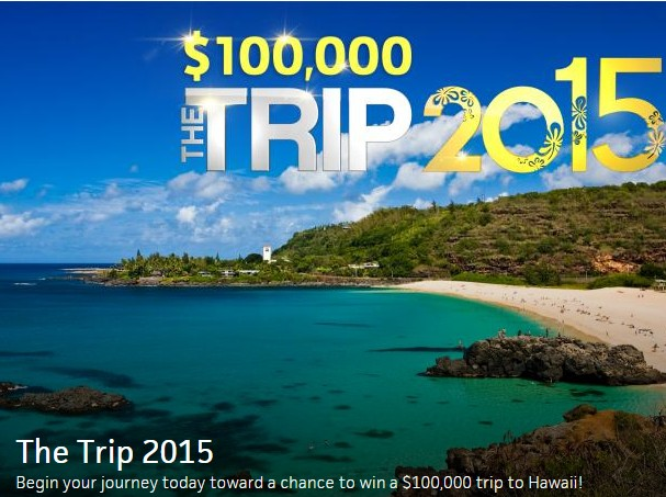 "Travel Channel's ""The Trip: 2015"" Sweepstakes"