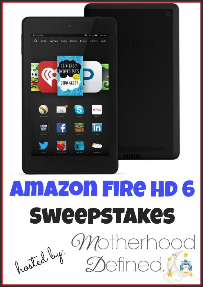 Kindle Fire HD Giveaway
