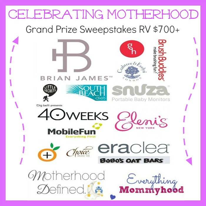 Celebrating Motherhood Grand Prize