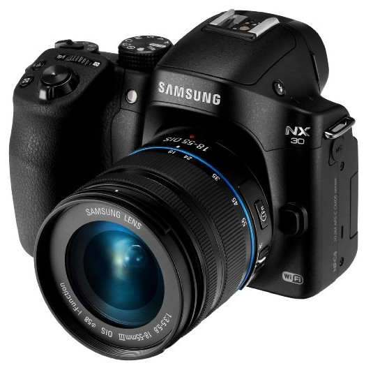 Samsung NX30 20.3MP CMOS Smart WiFi & NFC Mirrorless Digital Camera