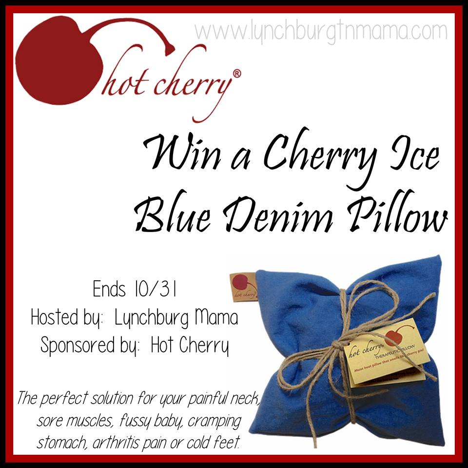 Blue Denim Pillow