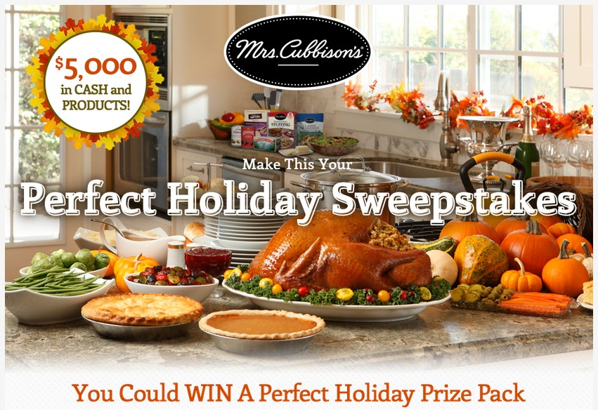 The $5,000 Holiday Sweepstakes