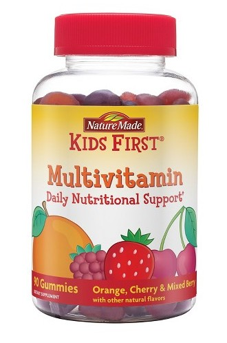 Nature Made® Kids First® Gummies