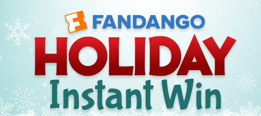 The Fandango Holiday Instant Win Promotion
