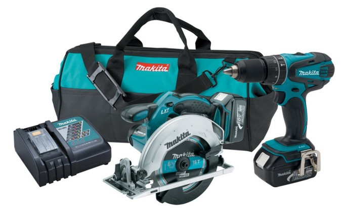 Makita XT250 Driver-Drill and Circular Saw Kit