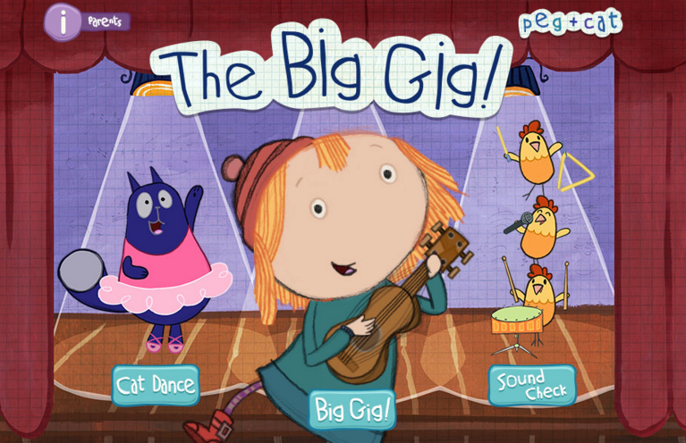 Peg And Cat Videos Counting By Ones