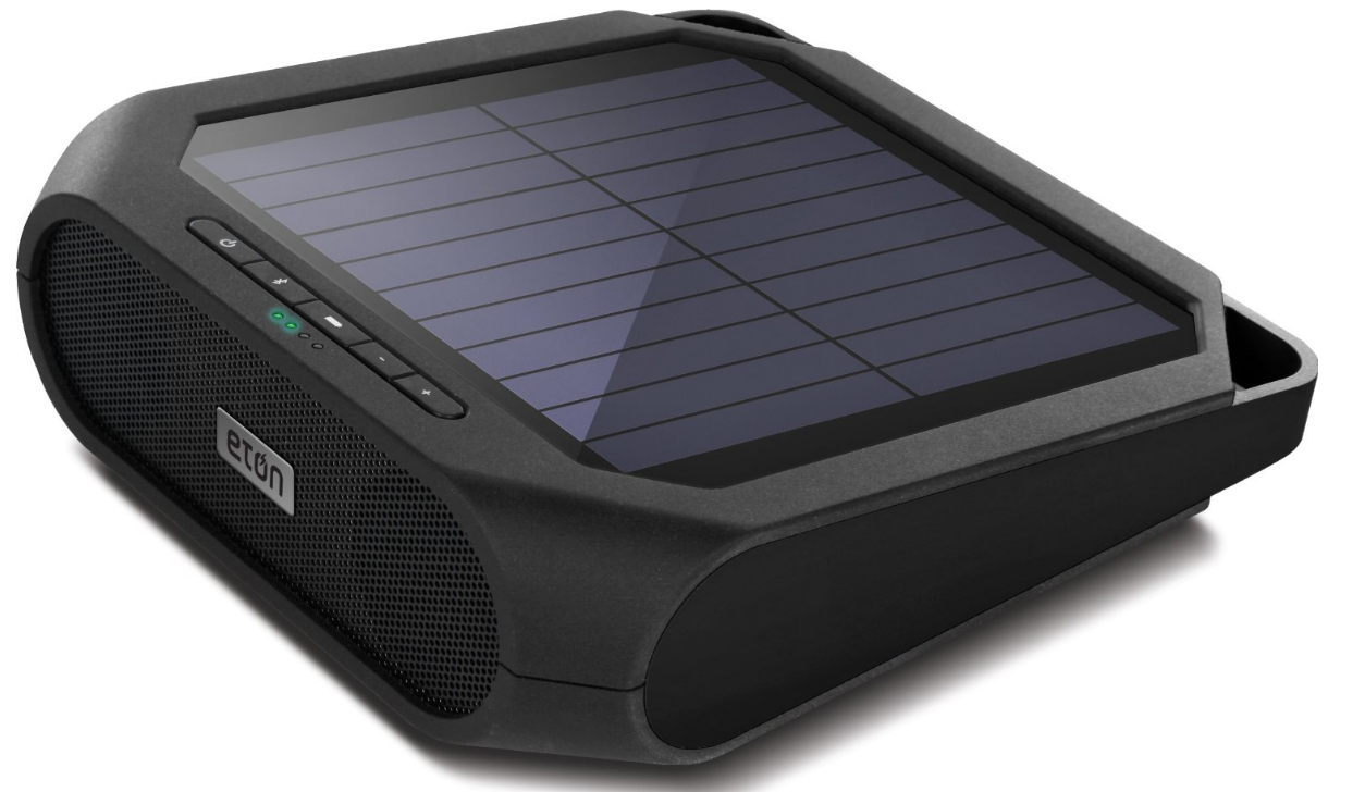 Eaton Rugged Rukus Solar Bluetooth Speaker