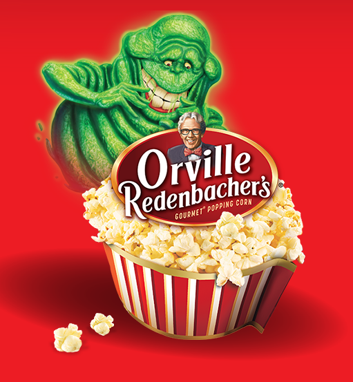 Orville Redenbacher's + Ghostbusters