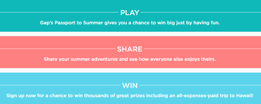 Passport to Summer Sweepstakes