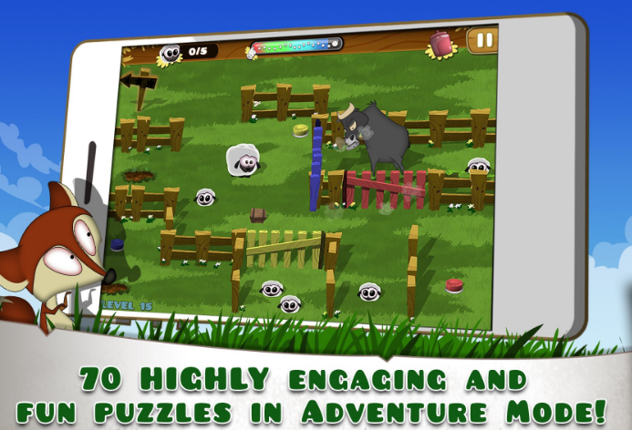 Hay Ewe - A sheepish puzzle adventure