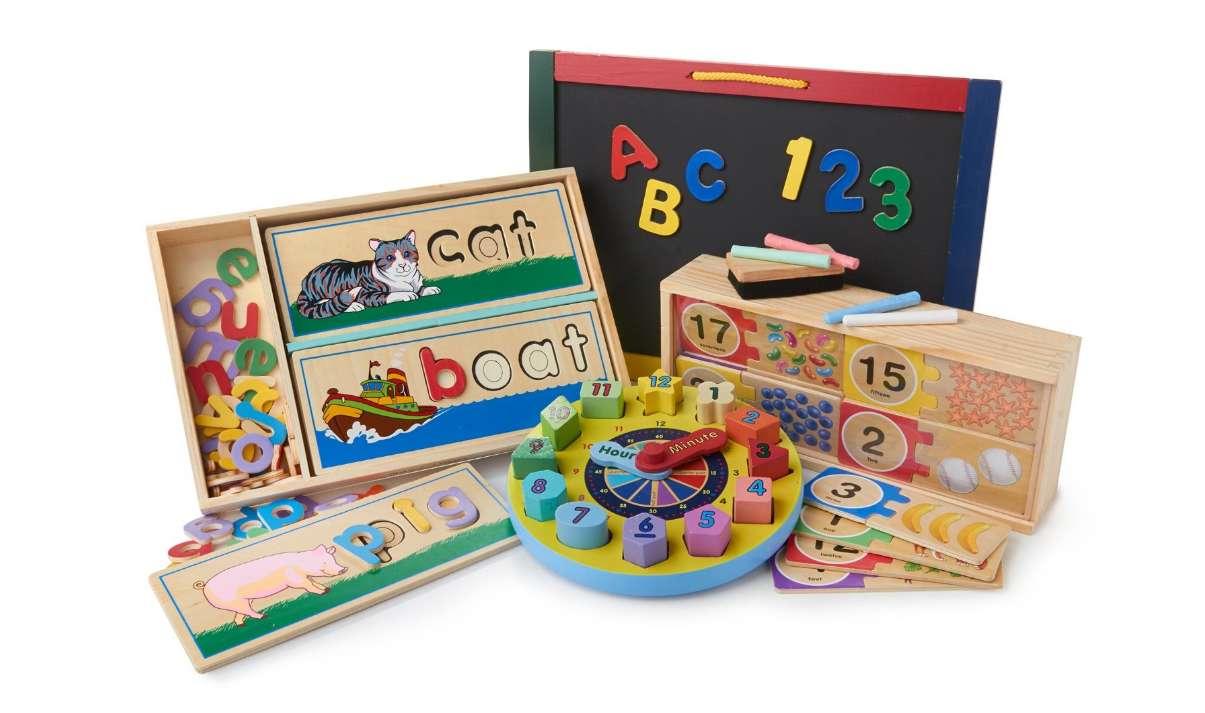 Melissa & Doug Skill Builders Bundle