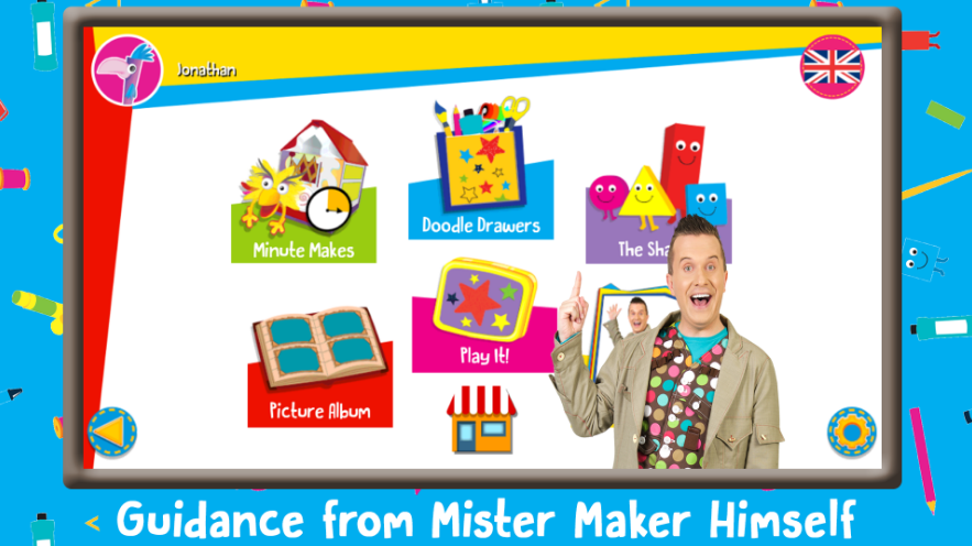 Mister Maker Let's Make It! - Design, Draw, Paint, Make and Play