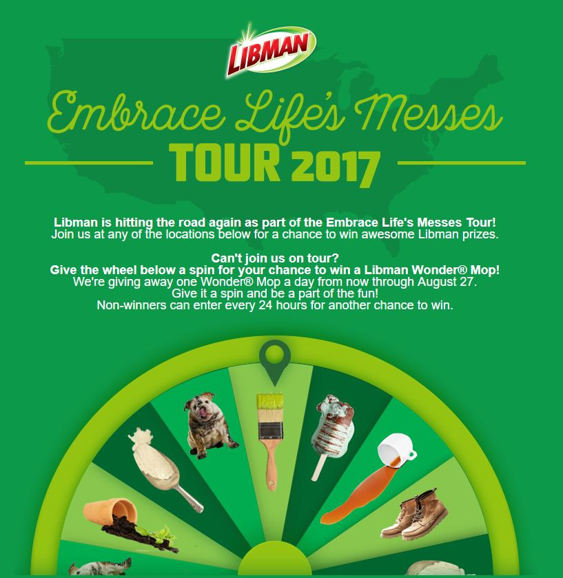 The Libman Spin to Win Summer Sweepstakes | MumbleBee Inc