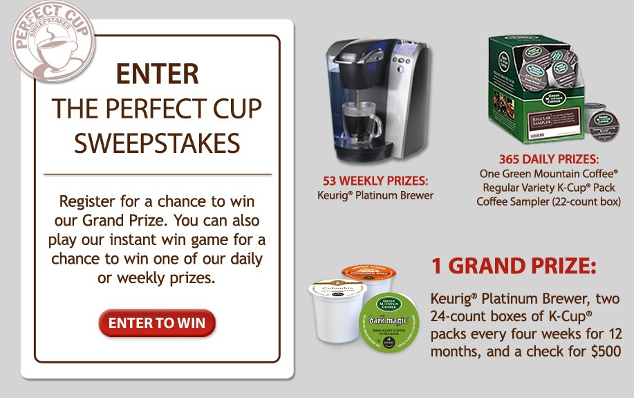helloworld sweepstakes green mountain coffee 174 the perfect cup sweepstakes 1906
